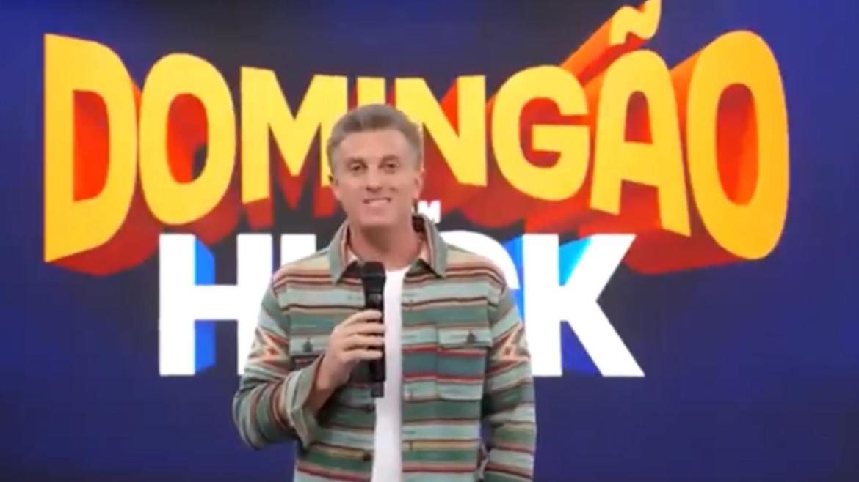 Luciano Huck faz homenagem à Fautão. Fonte: Reprodução/ TV Globo