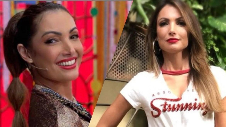 Patrícia Poeta apresenta o É de Casa, bem como substitui Fátima Bernardes no Encontro. Fonte: Reprodução/ TV Globo