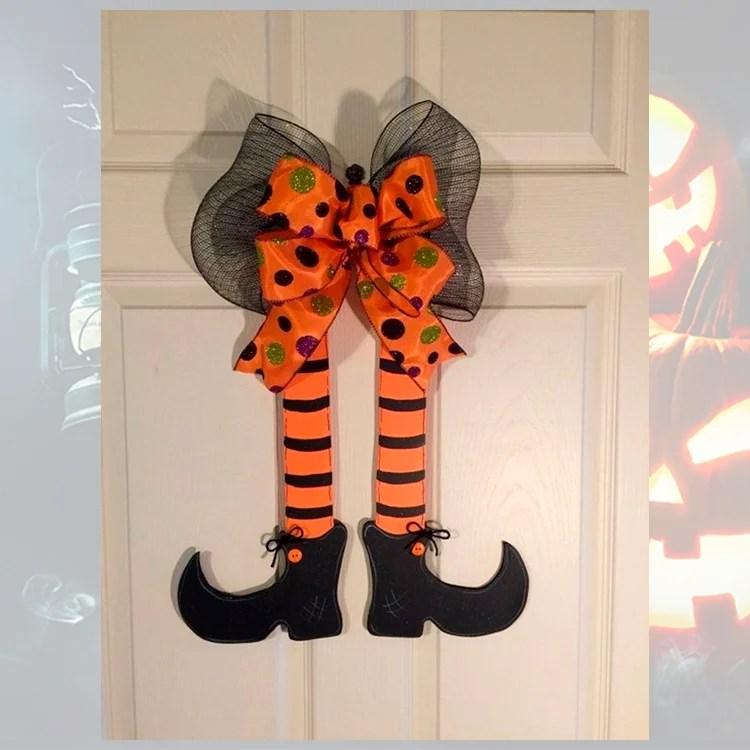 Foto de porta decorada.