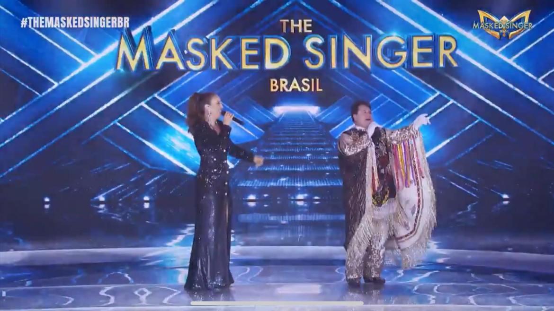 Marrone diz que foi um prazer participar do The Masked Singer. Fonte: Reprodução/ Globo