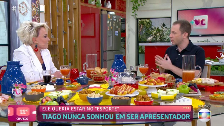 Tiago Leifert sai da TV Globo