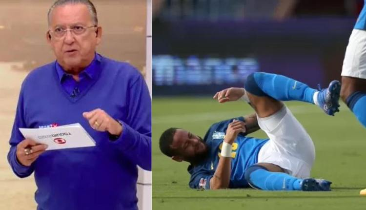 Neymar, Galvão Bueno