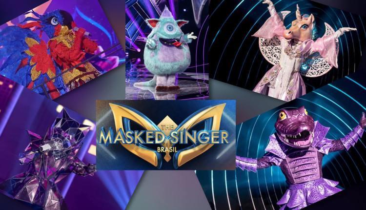 Identidade dos Finalistas do The Masked Singer Brasil