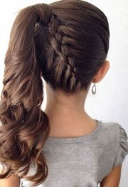 stunning side ponytail hairstyles