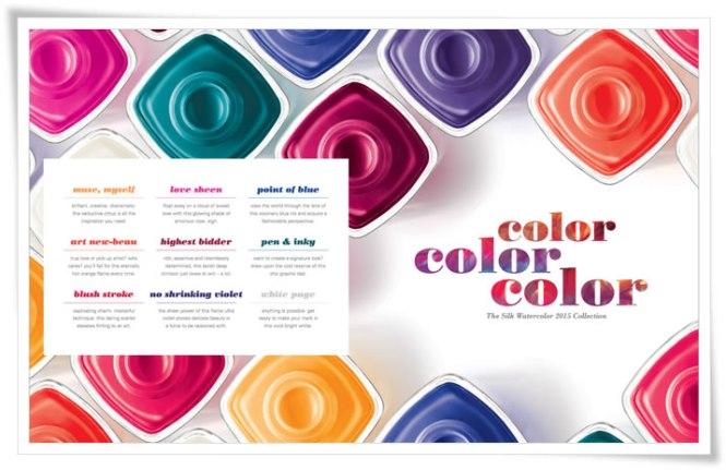 Essie Silk Watercolor Collection