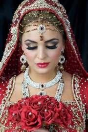 bridal makeup home