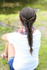 girly hairstyles long hair stylish