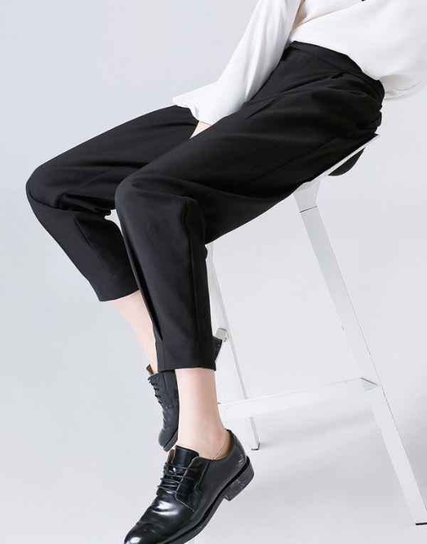Chic Black Pants   Suga – BTS