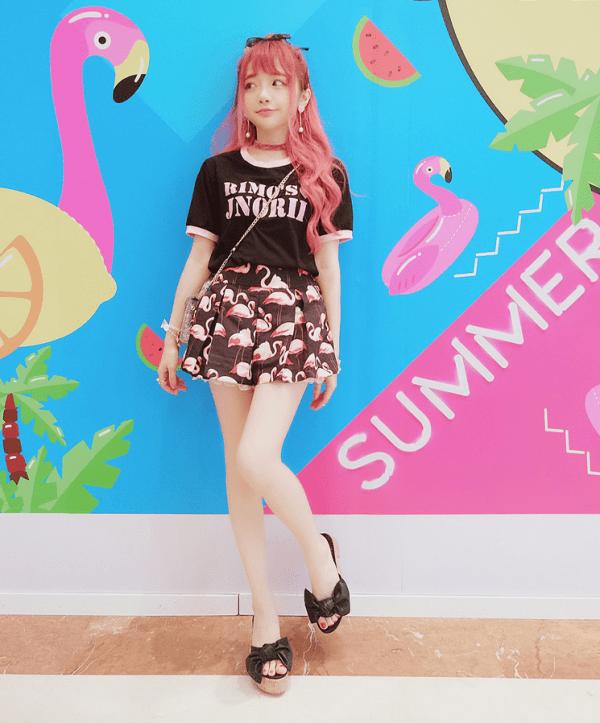 Flamingo Shorts | Wendy – Red Velvet