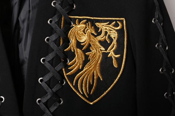 Black Jacket With Yellow Emblem | Suga – BTS