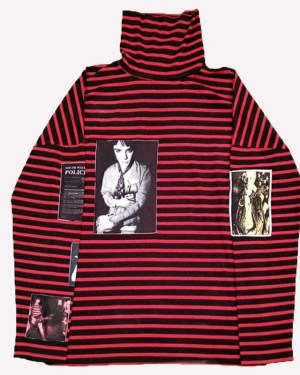 Red Striped Sweater BTS Outfit Jimin