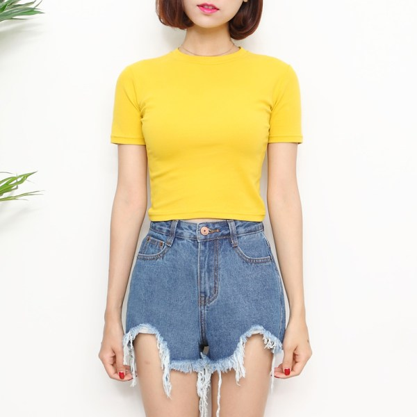 Yellow T-Shirt | Lisa – Blackpink