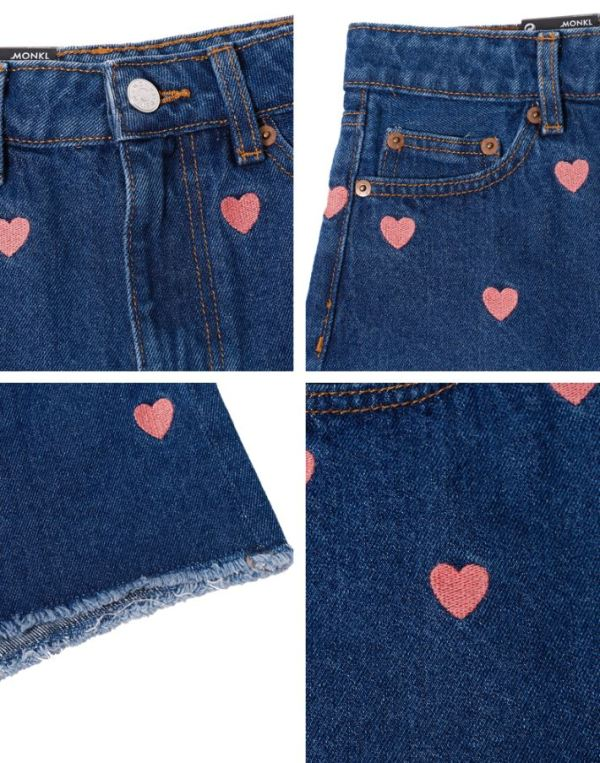 Heart Jeans Shorts | Wendy – Red Velvet
