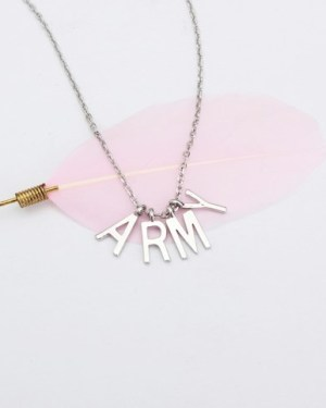 Jimin BTS Necklace with ARMY Pendant