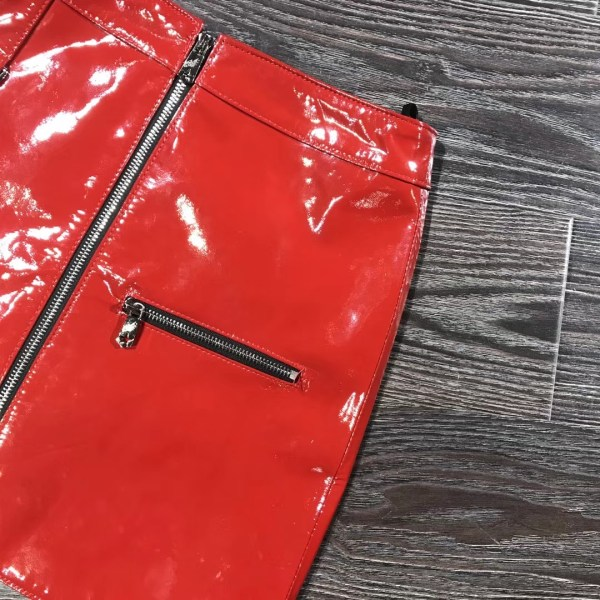 Red Leather Skirt | Yoona – Girls Generation