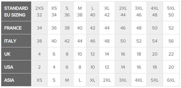 Size Conversion Chart ?>