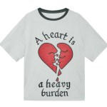 'A heart is a heavy burden' T-Shirt | Jisoo – BlackPink