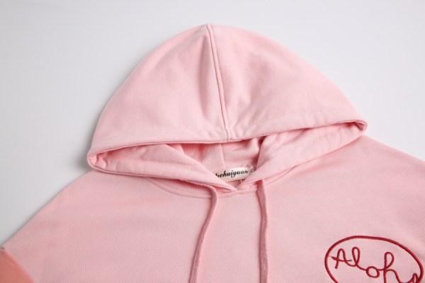 Pink Aloha Hoodie | Do Bong Soon – Strong Woman Do Bong Soon