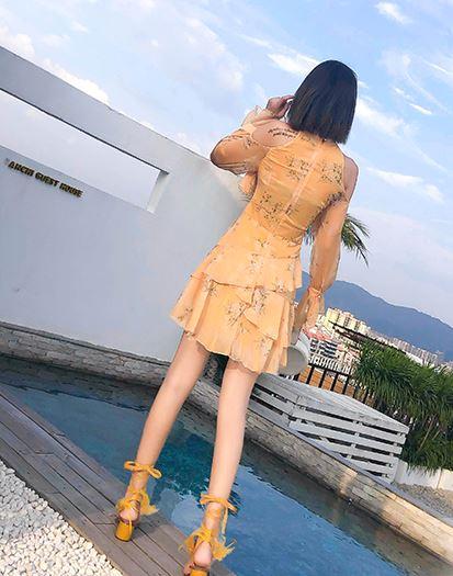 Yellow Flower Dress | Kim Mi So