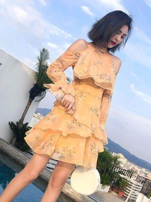 Kim Mi Soo – Flower Dress yellow
