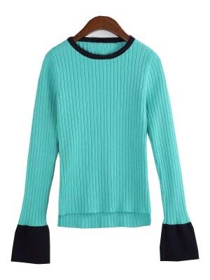 Nam Hong Joo Fashion – Turquoise Sweater