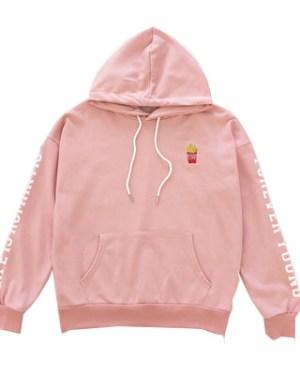 Pink Fries Hoodie – Jin BTS Fashion