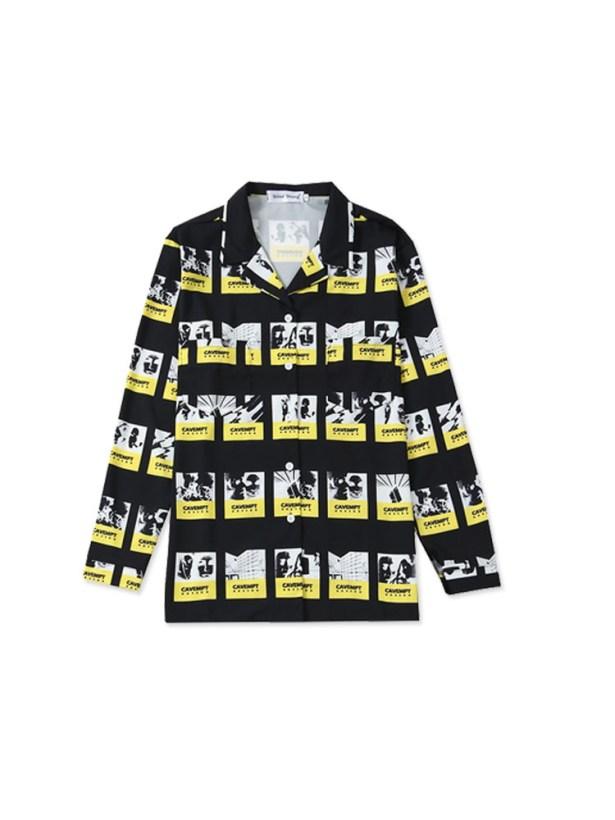 Sugas yellow black shirt he wore in Fire MV