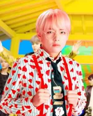 Striped Heart Blouse   Taehyung – BTS