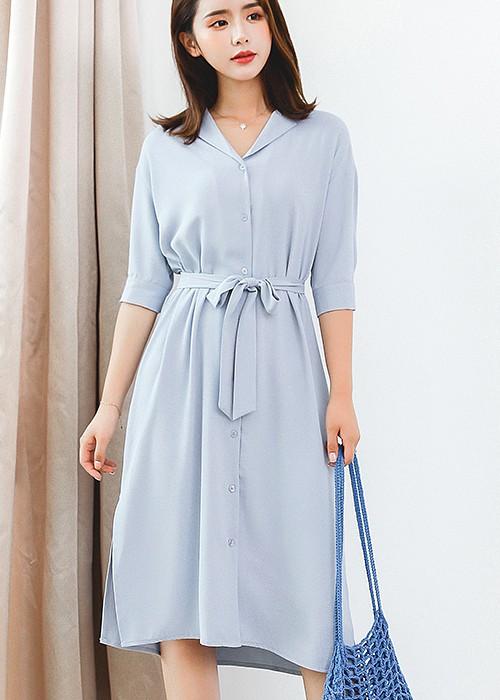 Blue Cute Dress   Jung Hee Joo – Memories of the Alhambra