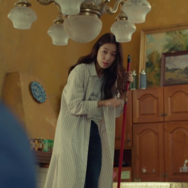 Striped Long Shirt | Jung Hee Joo – Memories of the Alhambra