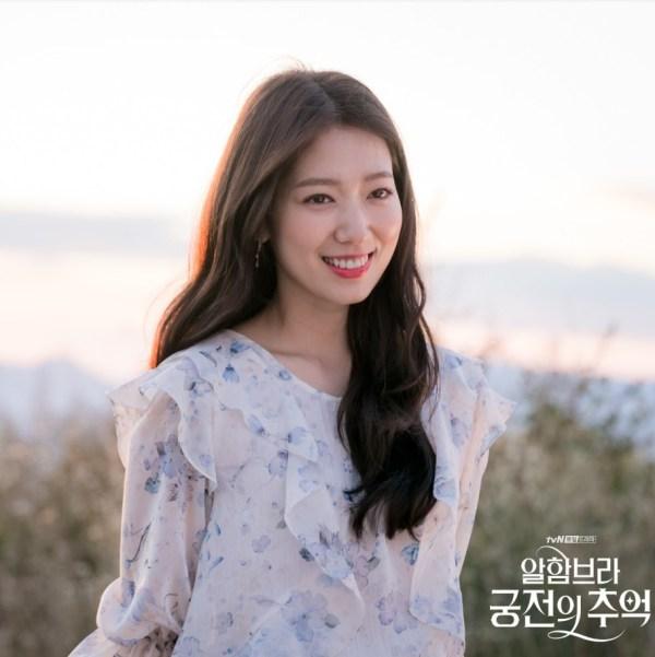Silver Flower Earrings   Jung Hee Joo – Memories of the Alhambra