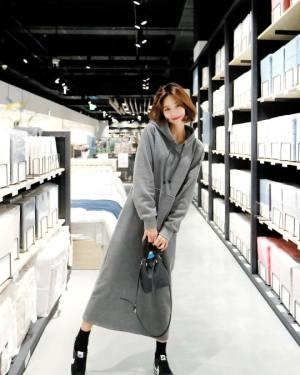 Long Hoodie Dress | Cha Soo-Hyun – Encounter