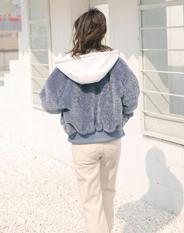 Blue Zip Hoodie | Jimin – BTS