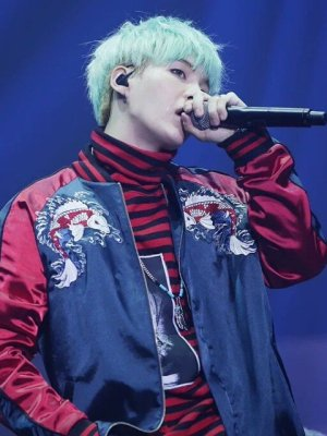Fancy Jacket With Karp Embroidery | Suga – BTS