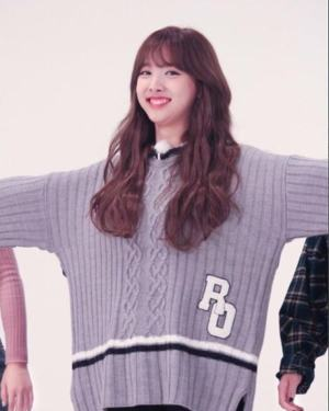 Grey-Blue Sweater | Nayeon – Twice