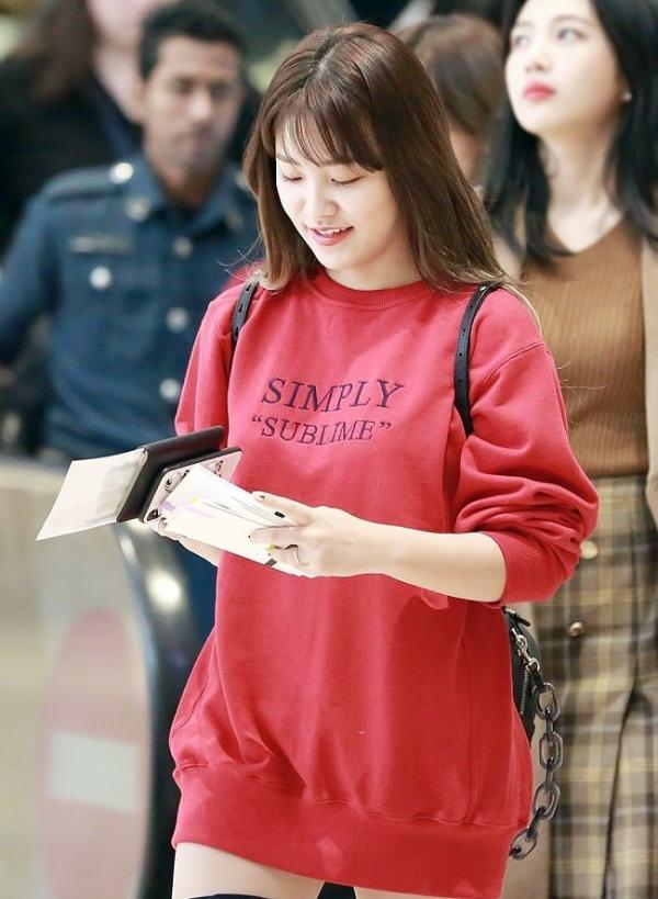 Simply Sublime Sweater   Yeri – Red Velvet