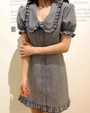 blackpink-jennie-birthday-plaid-dress2