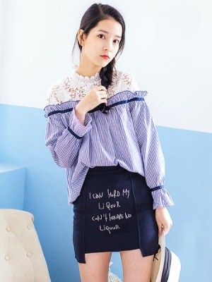 red-velvet-irene-blue-striped-blouse-with-lace5