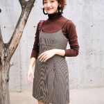 Korean Houndstooth Dress | Joy – Red Velvet
