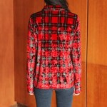 Red Plaid Shirt | Joy – Red Velvet