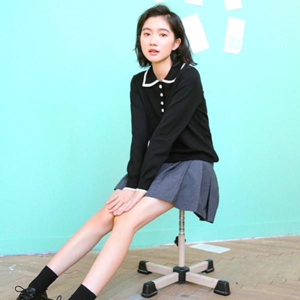 Chic Black Blouse   Seulgi – Red Velvet