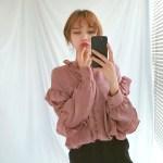 Ruffled Shirt | Yeri – Red Velvet