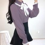 Chic Lilac Shirt | Momo – Twice