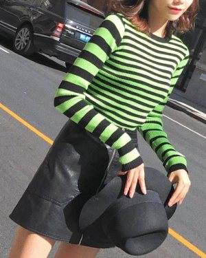 twice-momo-green-striped-shirt5