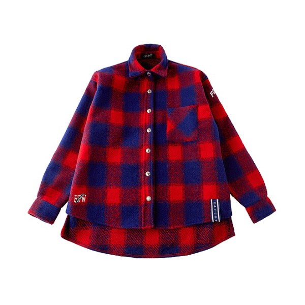 Red Blue Flannel Shirt | Jeongyeon – Twice