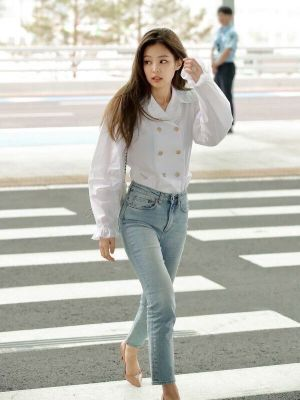 White Doll Collar Shirt | Jennie – BlackPink
