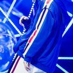 Blue Zip Hoodie | Taehyung – BTS
