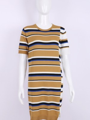 Jennie Yellow Striped Dress (1)