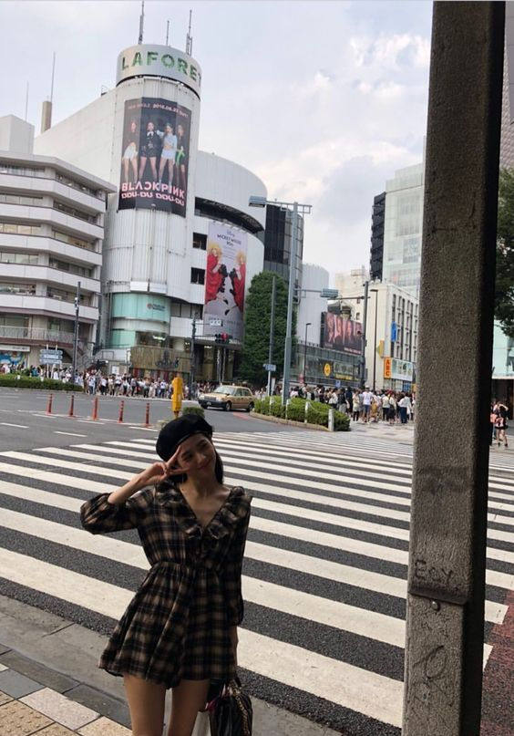 Checkered Dress | Jisoo – BlackPink