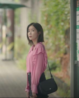 Pink Elegant Blouse | Kang Mi Rae – My ID Is Gangnam Beauty